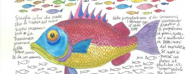 Disegno di Fulco Pratesi, Wwf