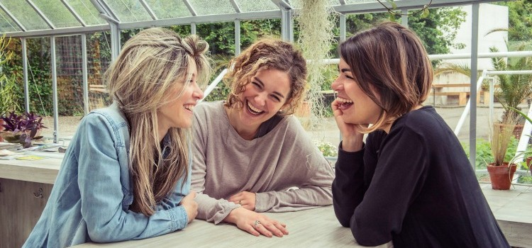 le tre autrici