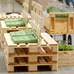 Arredi da giardino in greenpallet essere sostenibili for Arredi da giardino economici